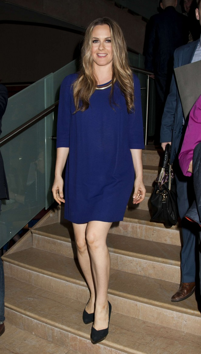 Alicia Silverstone - 2015 Lucille Lortel Awards in NYC