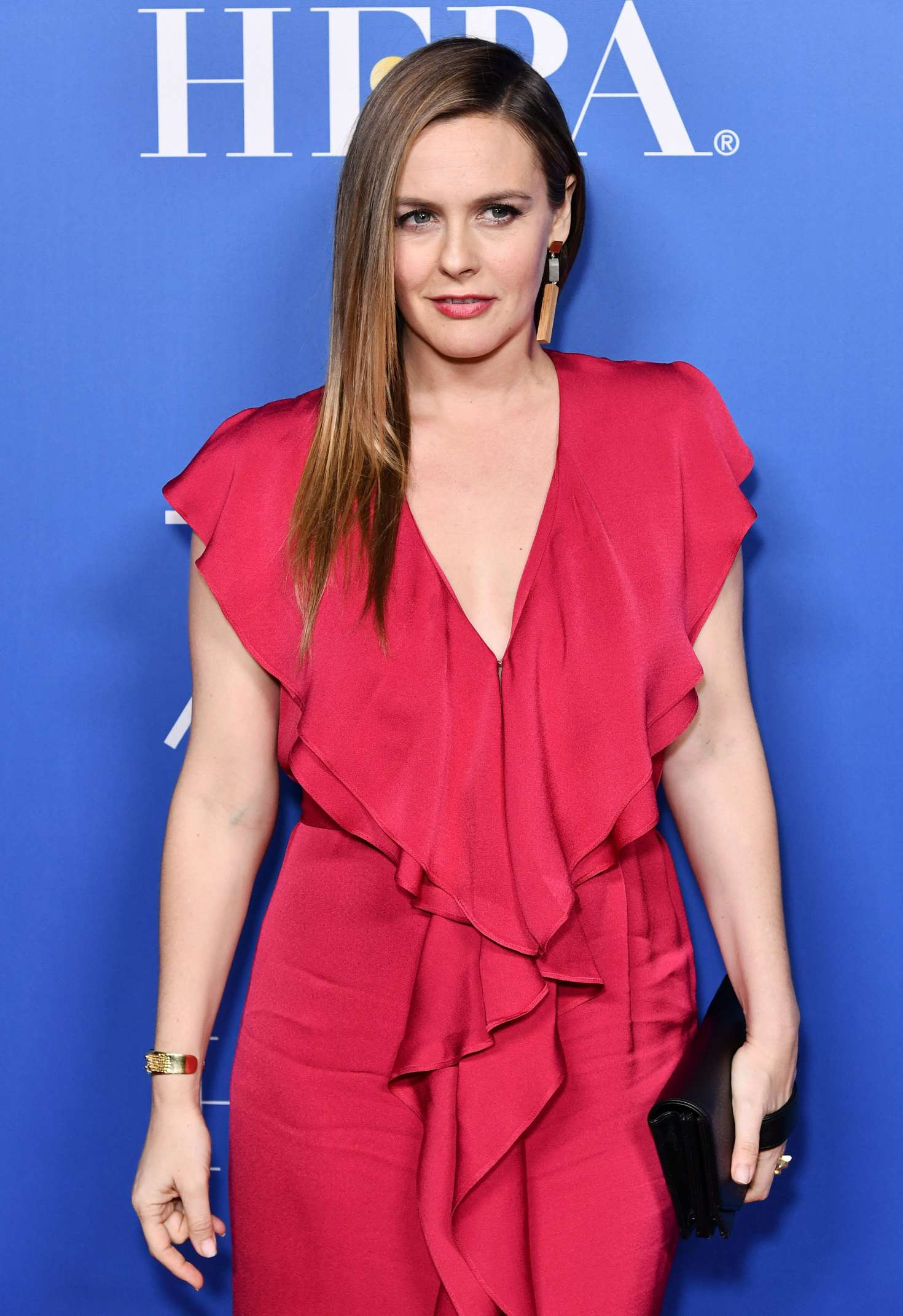 Alicia Silverstone - 75th Annual Golden Globe Award Nominations in Beverly Hills
