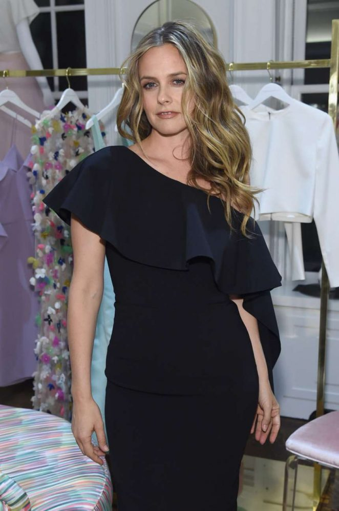 Alicia Silverstone - Christian Siriano New Store Launch in NYC