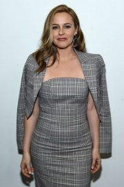 Alicia Silverstone - Christian Siriano Show at New York Fashion Week 2020