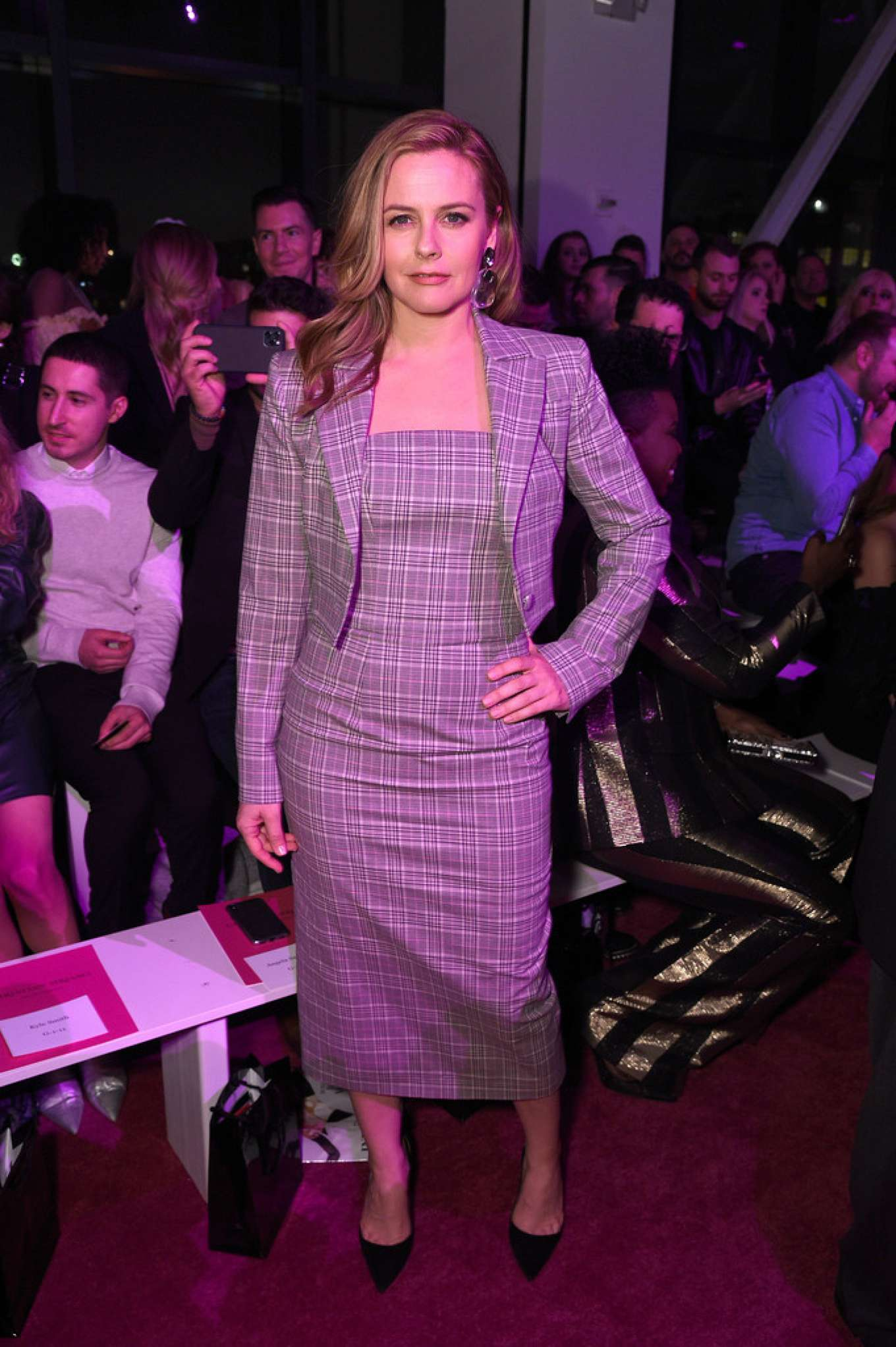 Alicia Silverstone 2020 : Alicia Silverstone – Christian Siriano Show at New York Fashion Week 2020-07