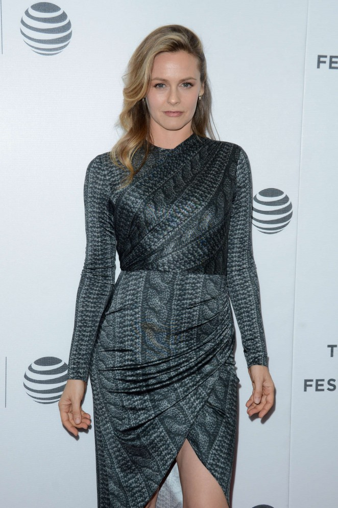 Alicia Silverstone - 'King Cobra' Premiere at 2016 Tribeca Film Festival in New York