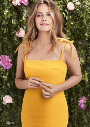 Alicia Silverstone - Redbook Magazine (July/August 2018)