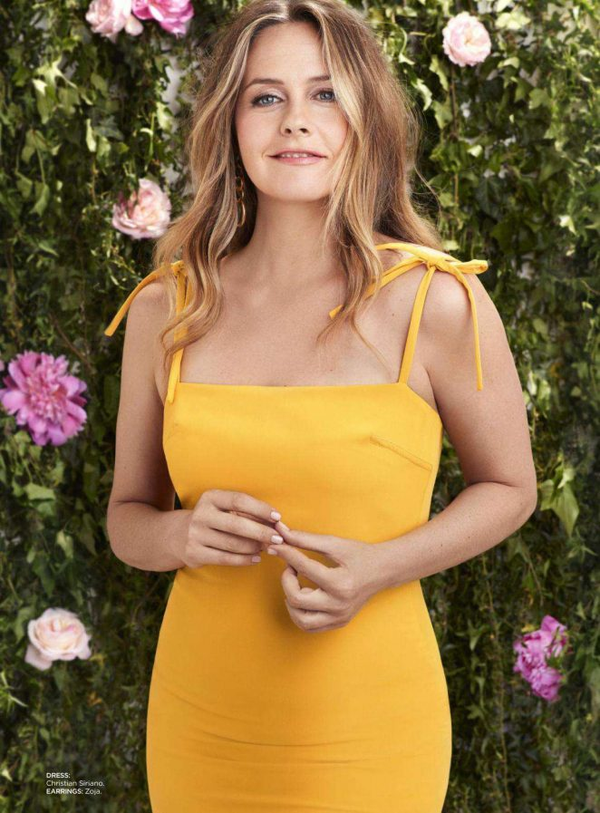 Alicia Silverstone – Redbook Magazine (July/August 2018)