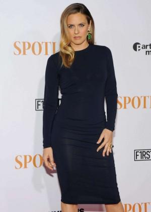 Alicia Silverstone - 'Spotlight' Premiere in New York