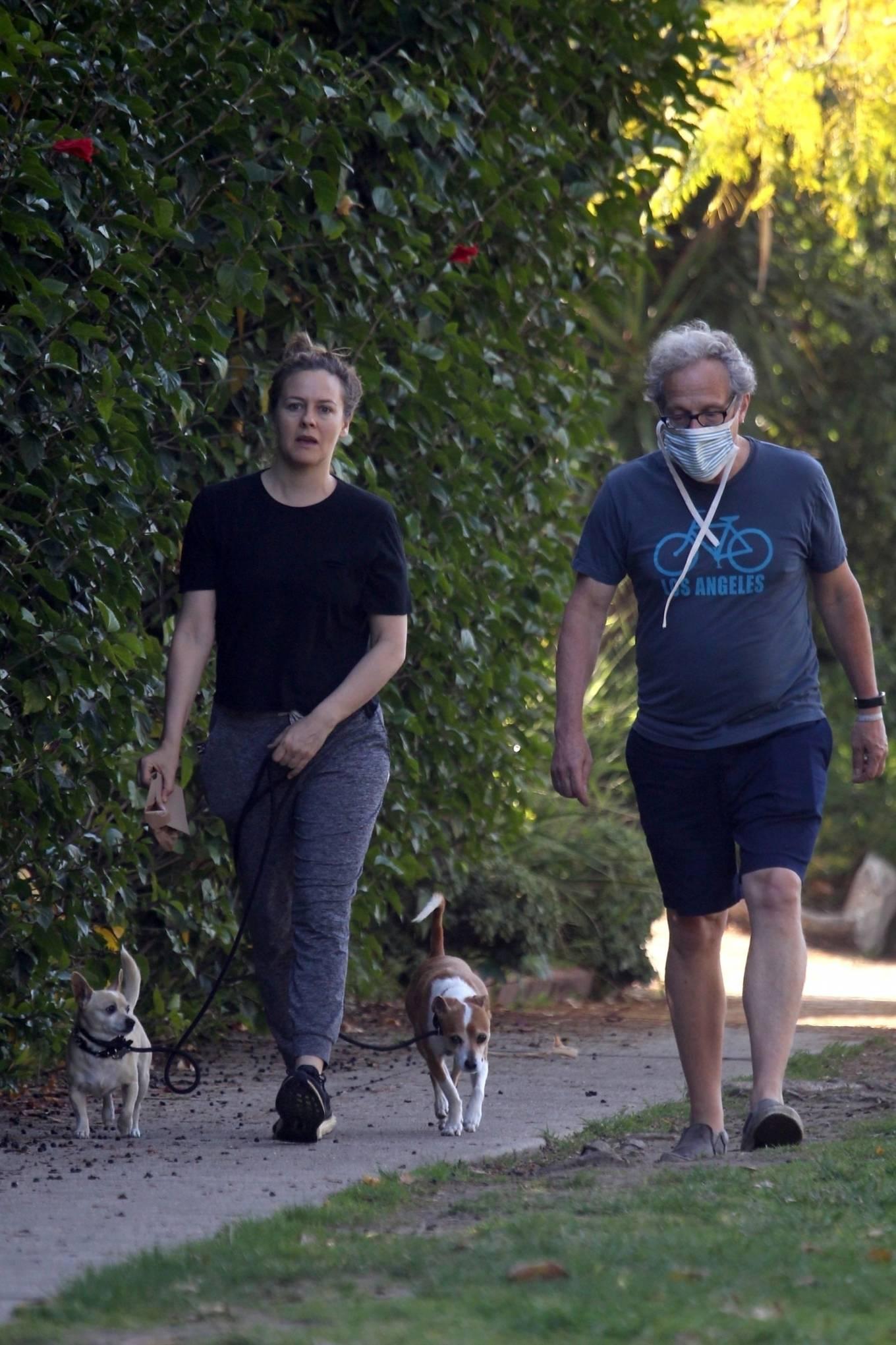 Alicia Silverstone 2020 : Alicia Silverstone – Spotted on dog walk in LA-05