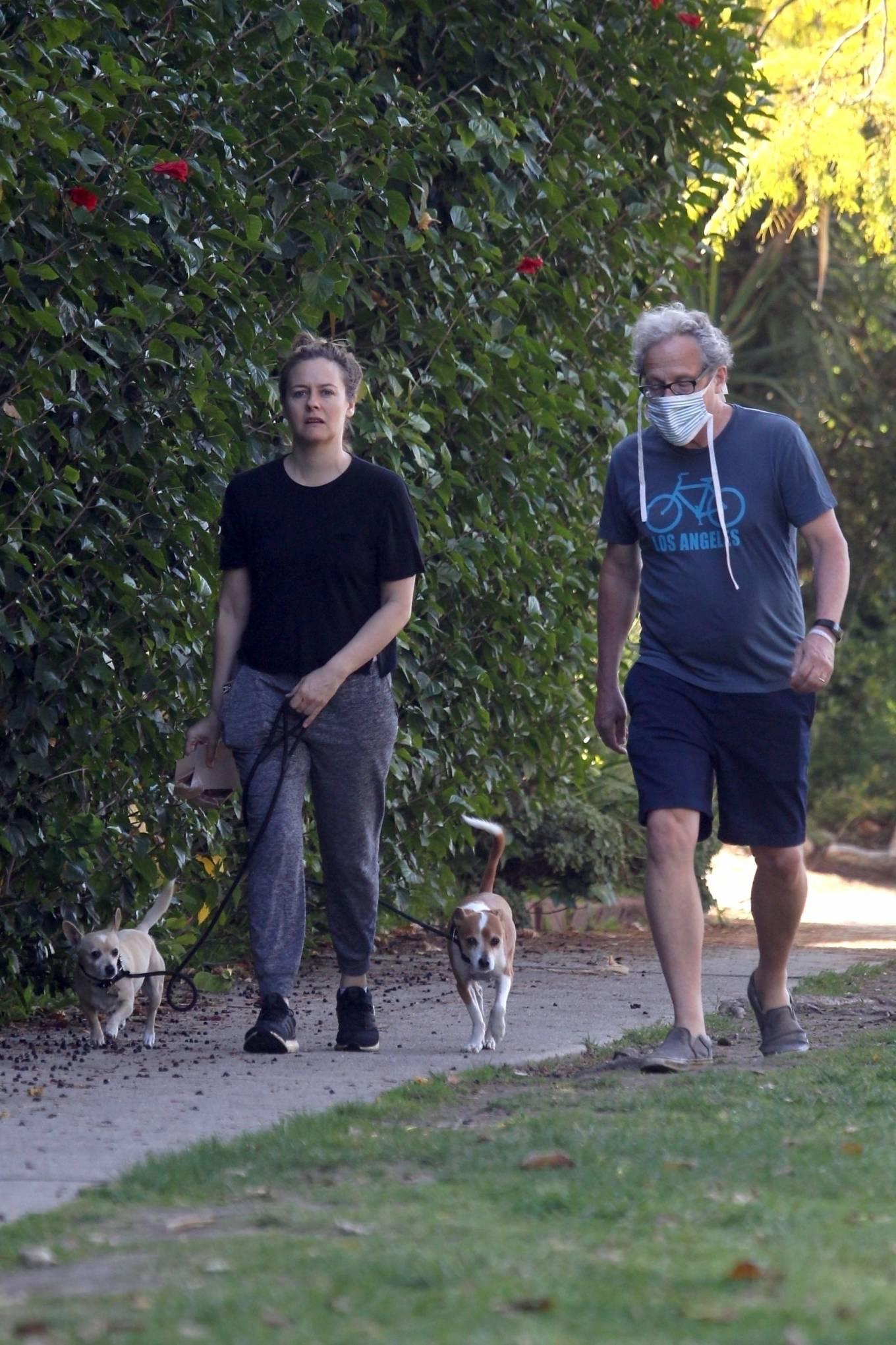Alicia Silverstone 2020 : Alicia Silverstone – Spotted on dog walk in LA-06
