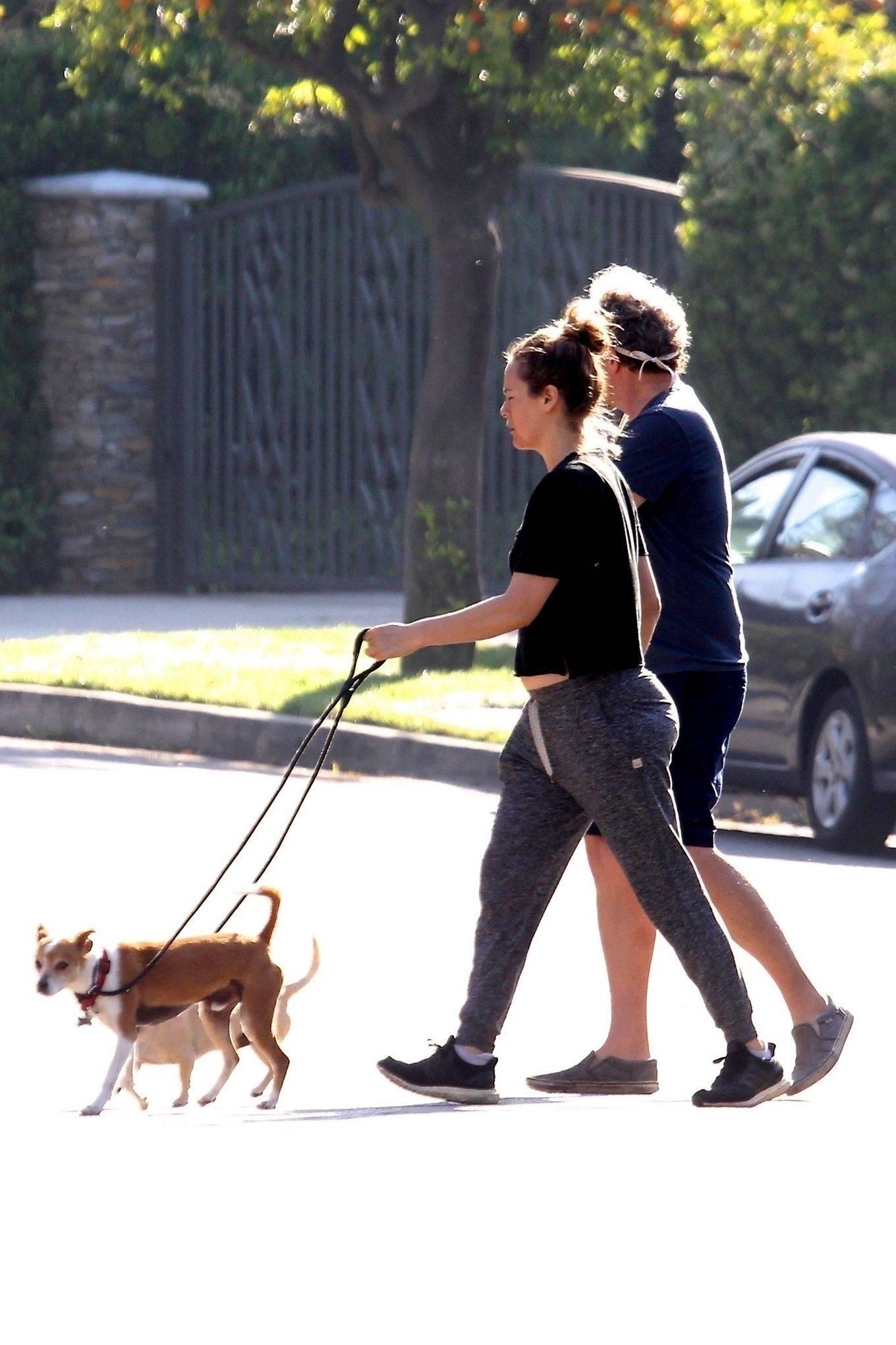 Alicia Silverstone 2020 : Alicia Silverstone – Spotted on dog walk in LA-10