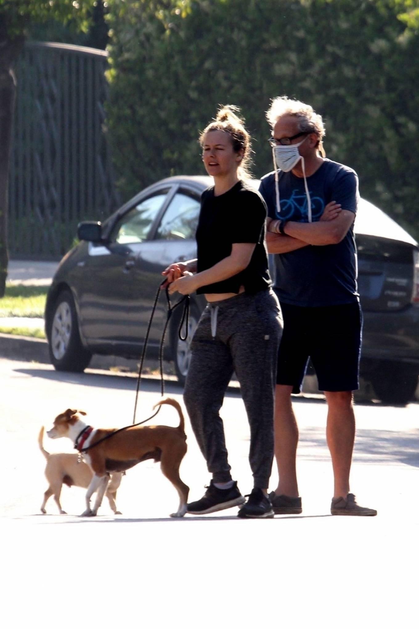 Alicia Silverstone 2020 : Alicia Silverstone – Spotted on dog walk in LA-15