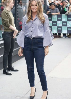 Alicia Silverstone - Visits the AOL BUILD Series in New York