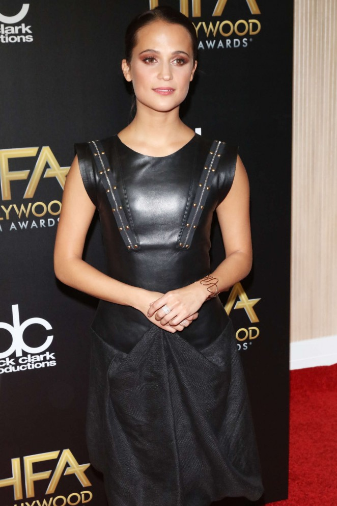 Alicia Vikander - 2015 Hollywood Film Awards in Beverly Hills