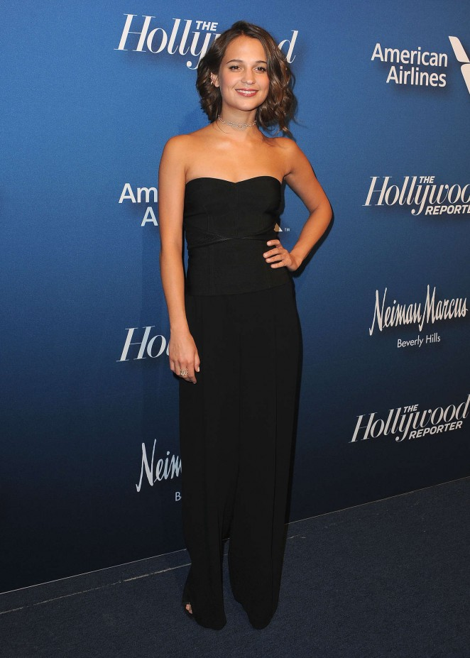 Alicia Vikander: 2016 The Hollywood Reporters Nominees Night -06