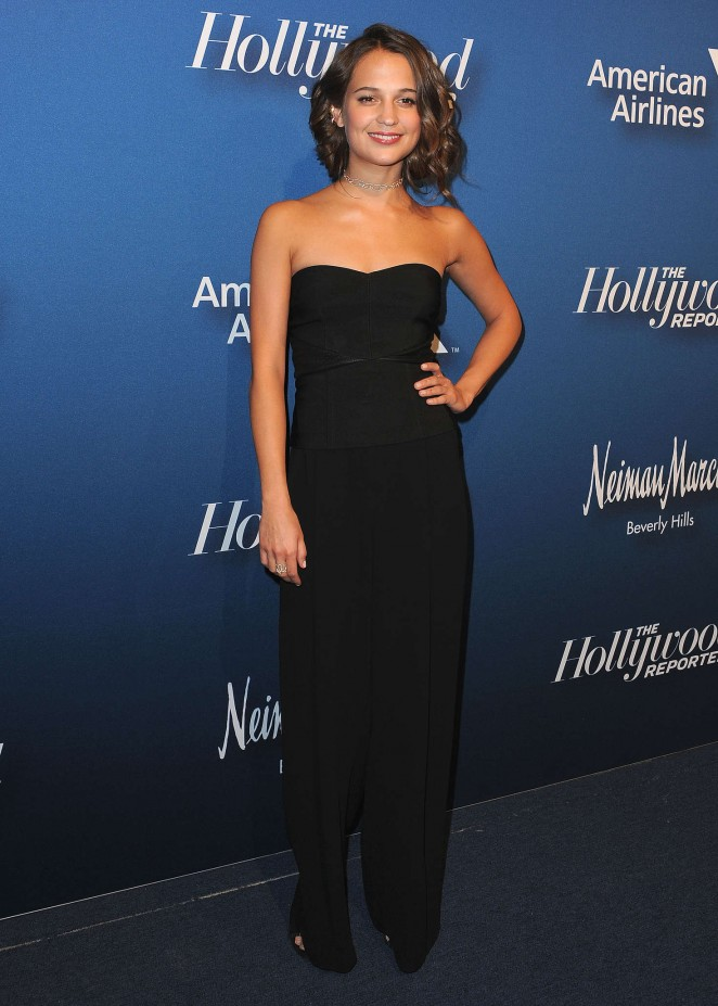 Alicia Vikander: 2016 The Hollywood Reporters Nominees Night -13