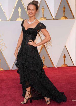 Alicia Vikander - 2017 Academy Awards in Hollywood
