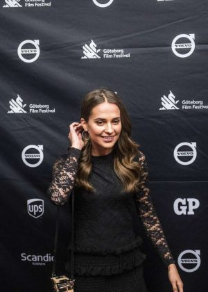 Alicia Vikander - 2018 Gothenburg Film Festival in Gothenburg
