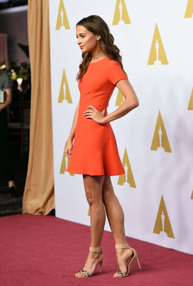 Alicia Vikander: 88th Annual Academy Awards Nominee Luncheon