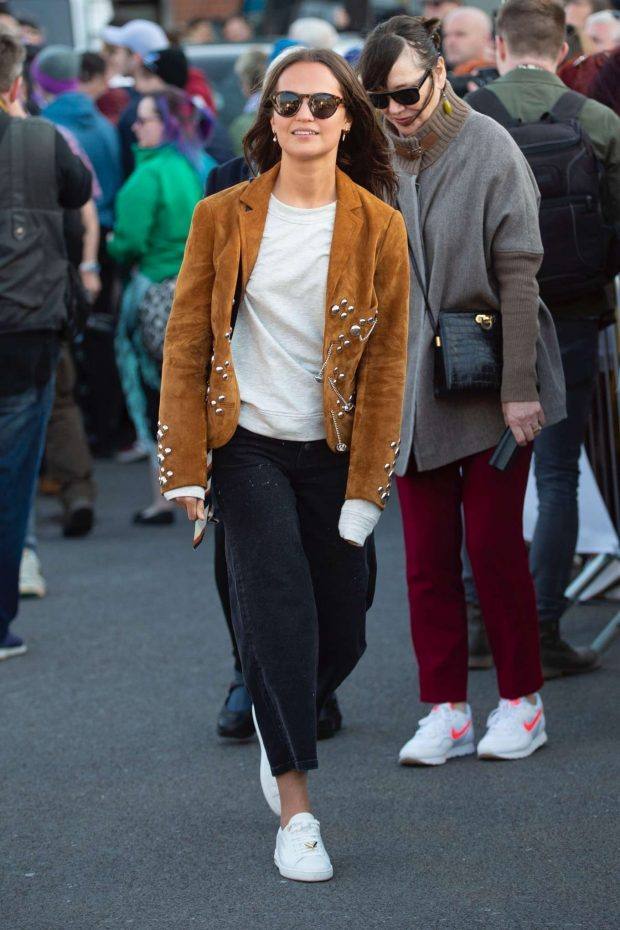 Alicia Vikander and Michael Fassbender - Visit Michael's home town in Killarney