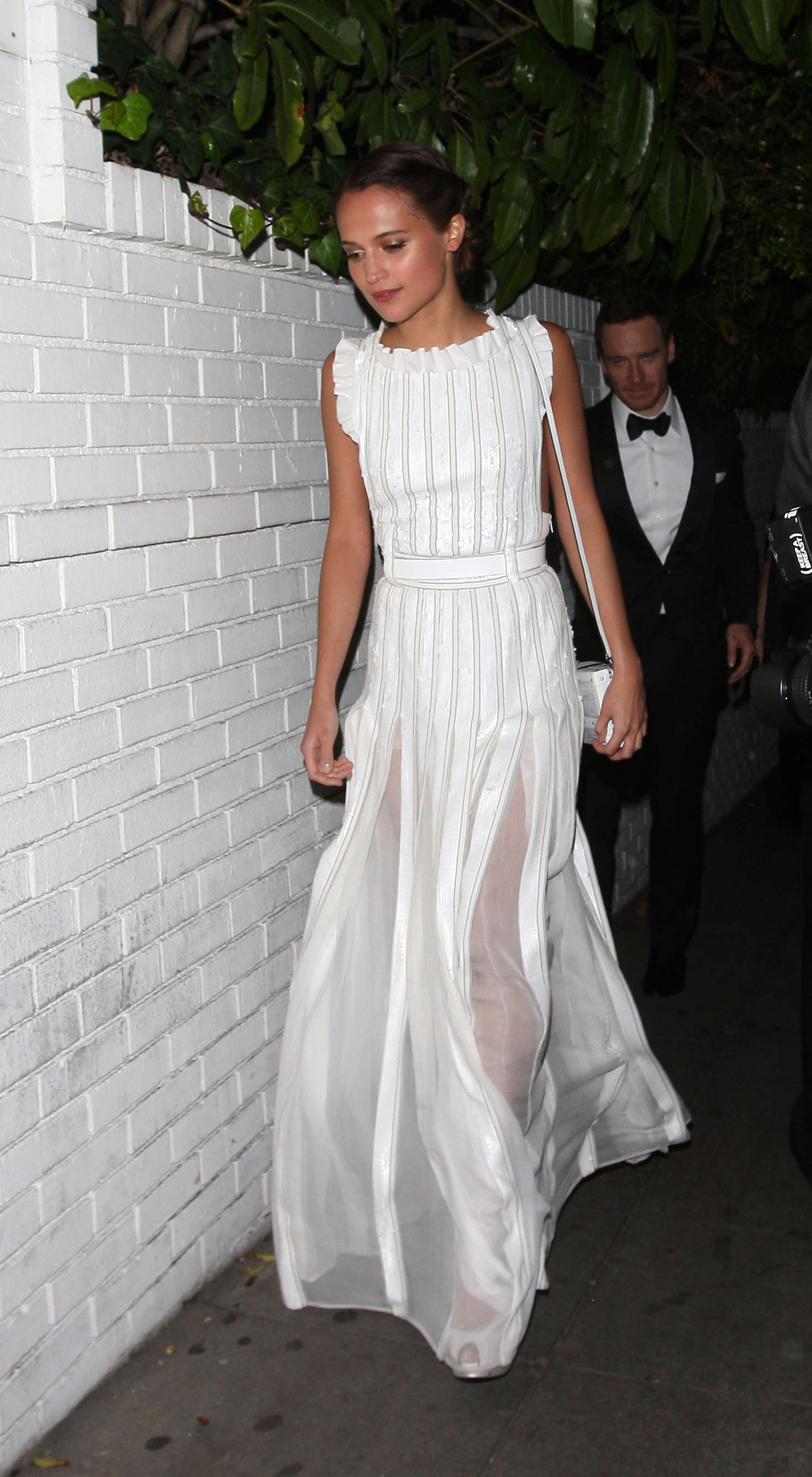 Alicia Vikander At The Chateau Marmont In West Hollywood Gotceleb