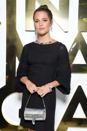 Alicia Vikander - Bvlgari Hight Jewelry Exhibition in Capri