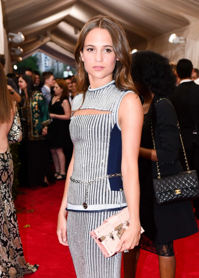 Alicia Vikander - 2015 Costume Institute Gala in NYC