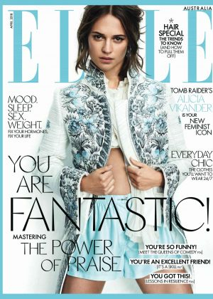 Alicia Vikander - Elle Australia Magazine (May 2018)