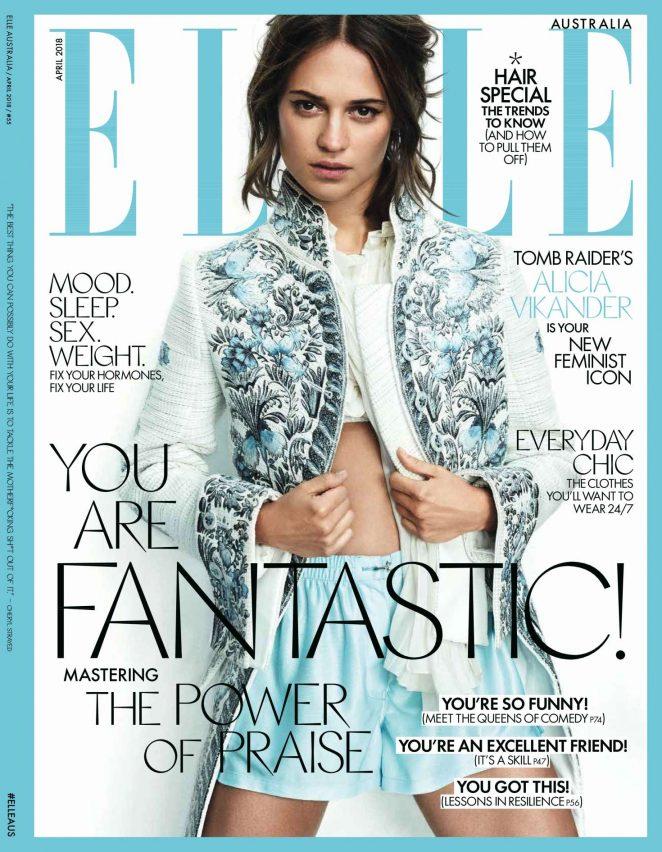 Alicia Vikander - Elle Australia Magazine (May 2018)