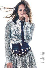 Alicia Vikander - Elle France Magazine 2019