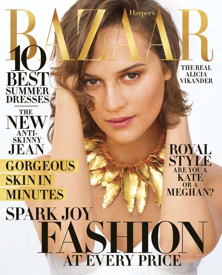 Alicia Vikander - Harper's Bazaar US Magazine (April 2019)