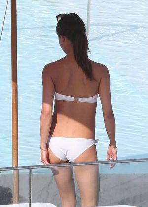 Alicia Vikander in White Bikini 2016 -35