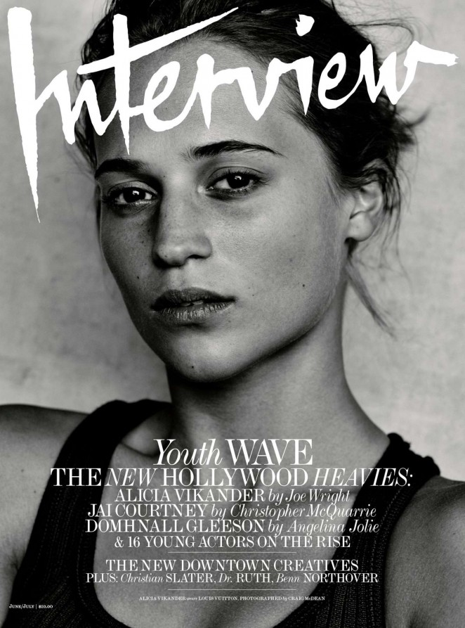 Alicia Vikander - Interview Magazine Cover (June/July 2015)