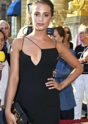 Alicia Vikander - 'Jag ar Ingrid' Premiere in Stockholm