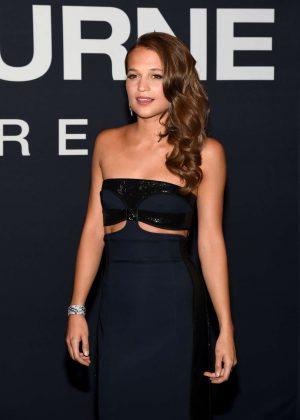 Alicia Vikander - 'Jason Bourne' Premiere in Las Vegas