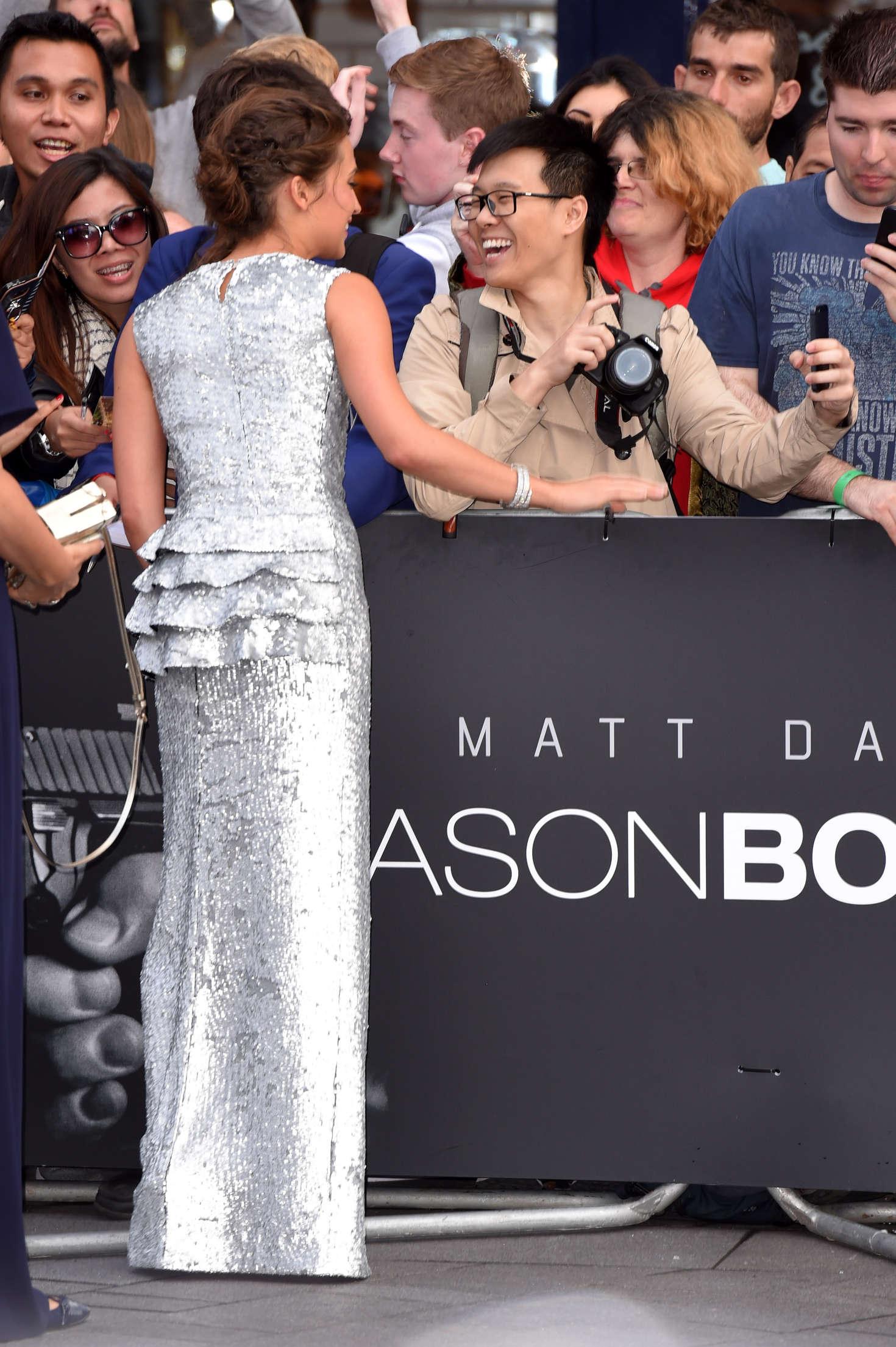 Alicia Vikander Jason Bourne