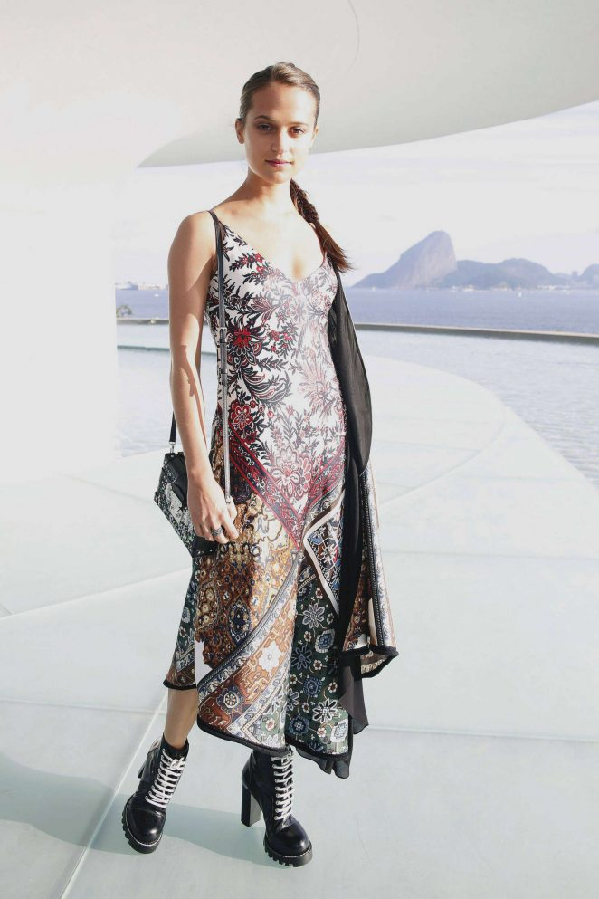 Alicia Vikander - Louis Vuitton 2017 Cruise Collection in Brazil