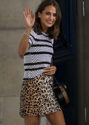 Alicia Vikander - Louis Vuitton - Boutique Opening in Paris