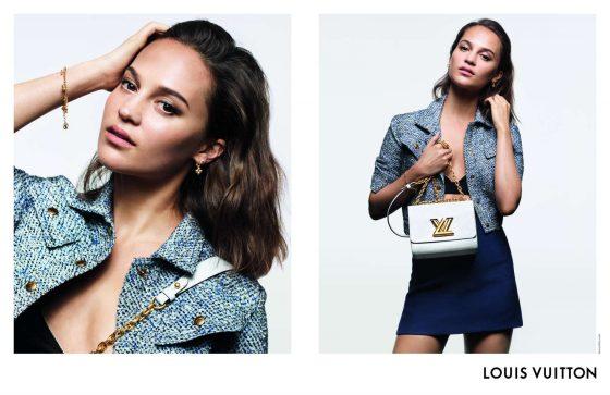 Alicia Vikander - Louis Vuitton Handbag Campaign (April 2019)