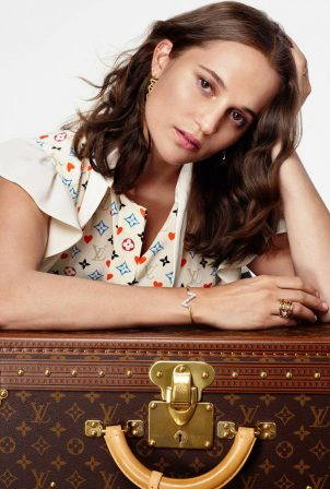 Alicia Vikander - Louis Vuitton Journey Home for the Holidays (2020 Collection)