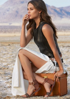 Alicia Vikander - Louis Vuitton Spirit of Travel Campaign Photoshoot