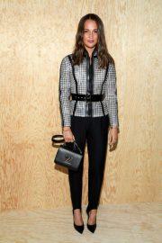 Alicia Vikander - Louis Vuitton Womenswear SS 2020 Show at Paris Fashion Week