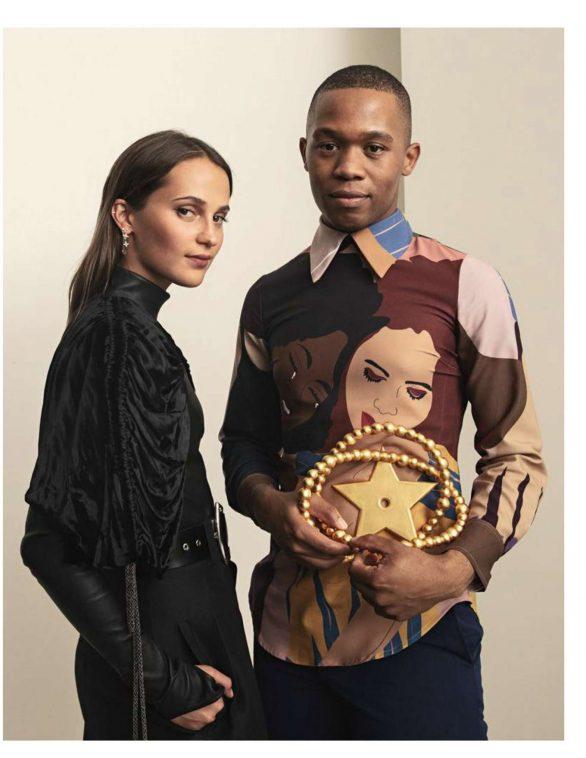 Alicia Vikander - Madame Figaro Magazine (October 2019)
