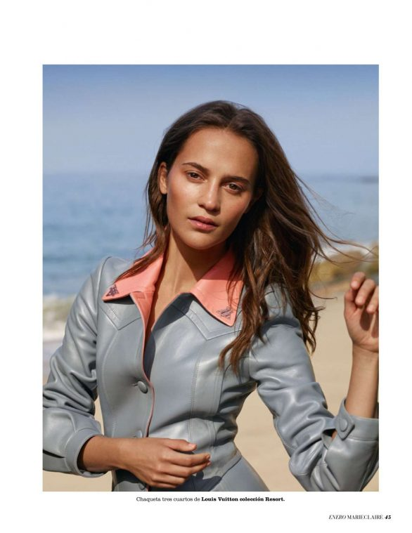 Alicia Vikander - Marie Claire Espana Magazine (January 2020)