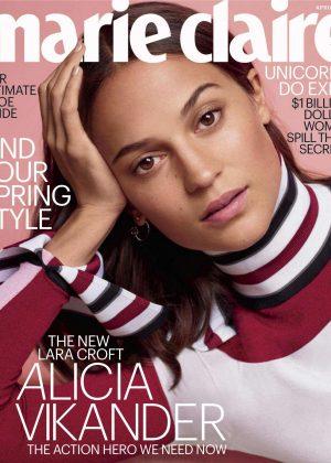 Alicia Vikander - Marie Claire US Magazine (April 2018)