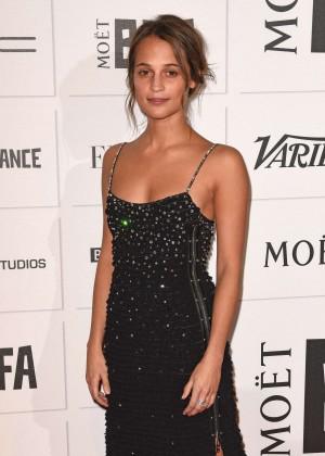 Alicia Vikander - Moet British Independent Film Awards 2015 in London