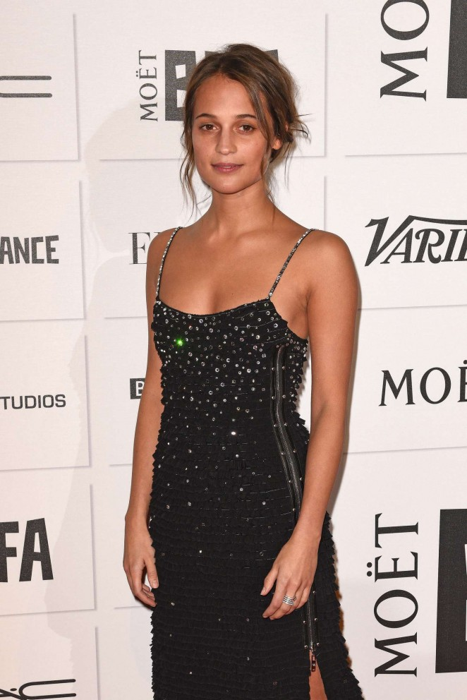 Alicia Vikander - Moet British Independent Film Awards 2015 in London