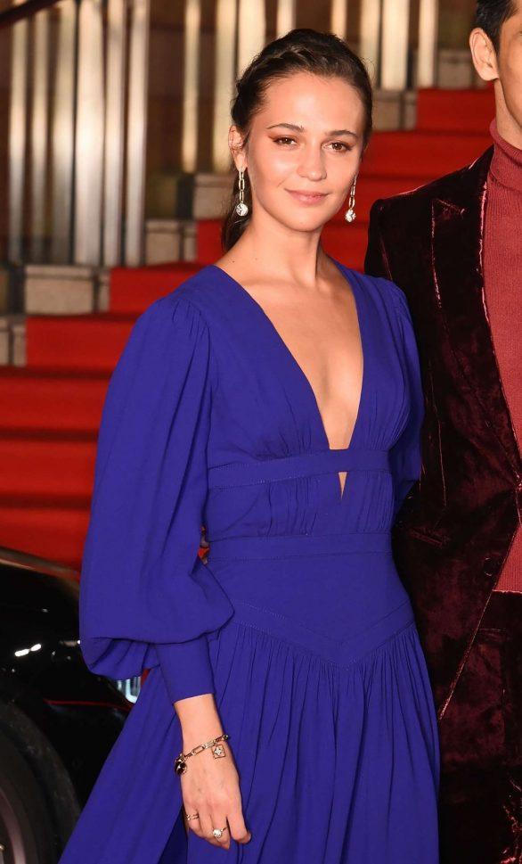 Alicia Vikander - Opening Ceremony of Tokyo International Film Festival 2019