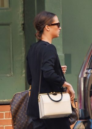 Alicia Vikander - Out in New York City