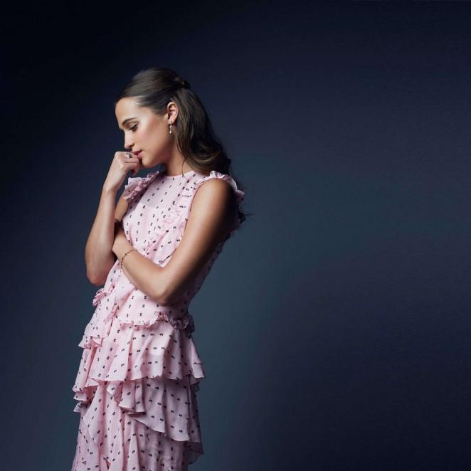 Alicia Vikander - Palm Springs International Film Festival Portraits 2016