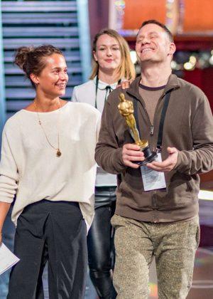 Alicia Vikander - Rehearsals for the 89th Annual Academy Awards in LA