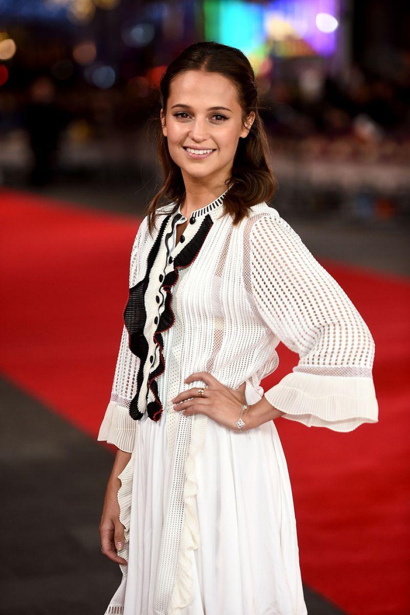 "Alicia Vikander - ""Testament of Youth"" Premiere in London"