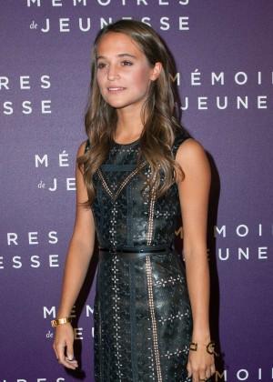 Alicia Vikander - 'Testament of Youth' Premiere in Paris